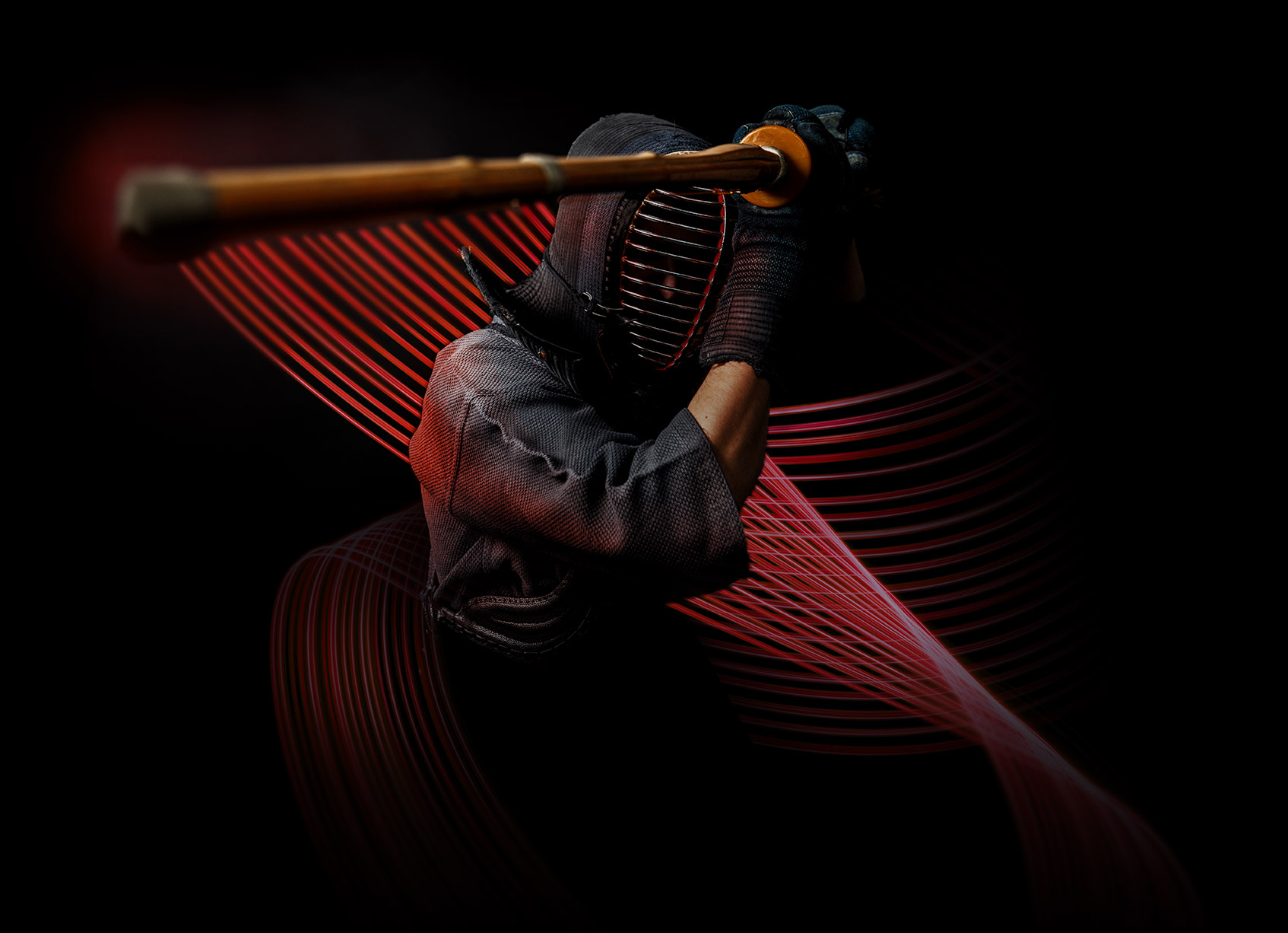 Image of a kenshi with his light sword
