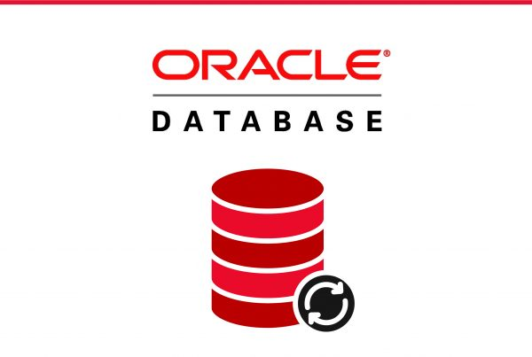 Imagem with Oracle logo and a database icon