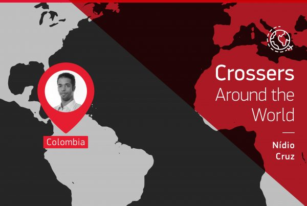 "The testimony of this ""Crossers around the world"" is given by Nidio Cruz from Colombia"