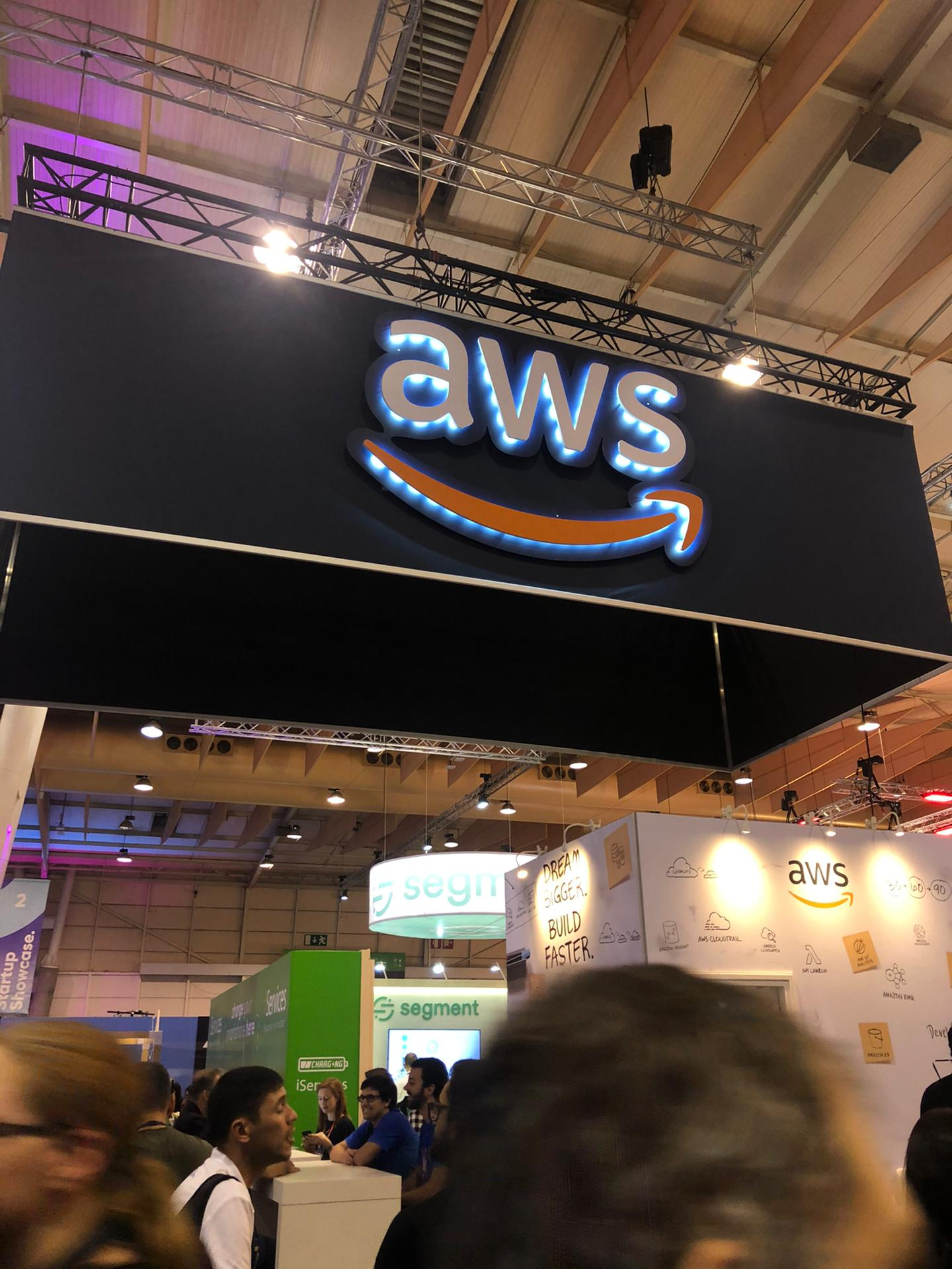 Ilustrating that Cloud Infrastructure got a lot of attention this year, in particular with AWS standing out. Google had a lesser presence this year.