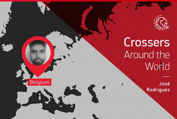 """El testimonio de este """"Crosser alrededor del mundo"""" es dado por José Rodrigues que está en Bélgica"""