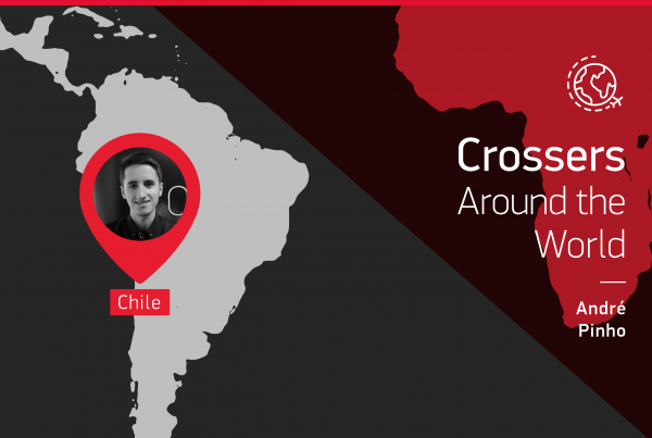 "The testimony of this ""Crossers around the world"" is given by André Pinho who is in Belgium"